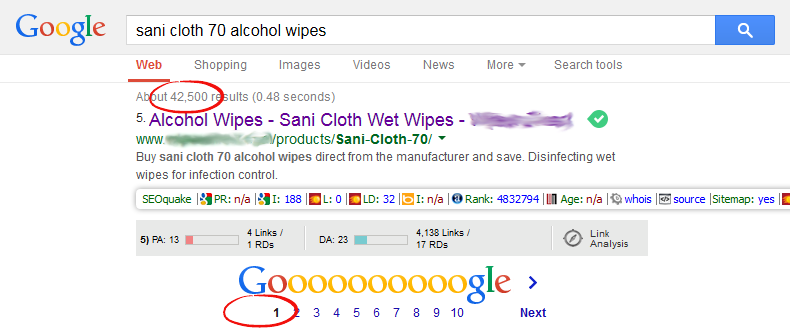 SEO Services Case Study Fig1.