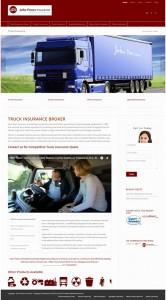John Peers Insurance Website Design