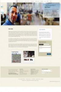 Matt Bass Website Design