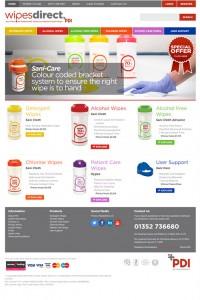 Wipes-Direct-Website-Design